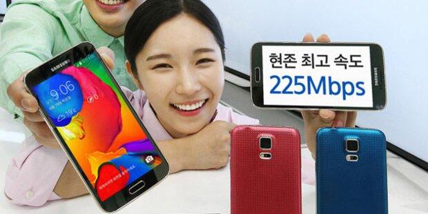 Samsung stellt besseres Galaxy S5 vor