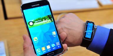 Smartphone-Primus Samsung unter Druck