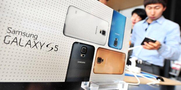 Galaxy S5 zwei Wochen zu früh in den Läden