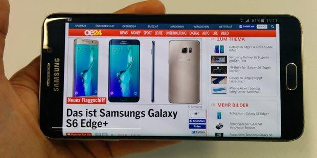Samsung kommt wieder in Schwung