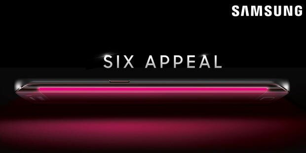 Galaxy S6 fix mit gebogenem Display