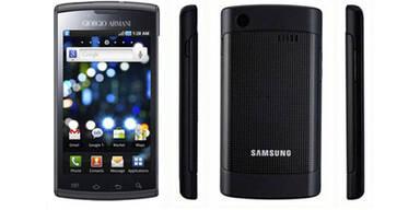 Samsung Galaxy S von Giorgio Armani
