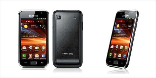 Samsung Galaxy S Plus kommt auch zu uns