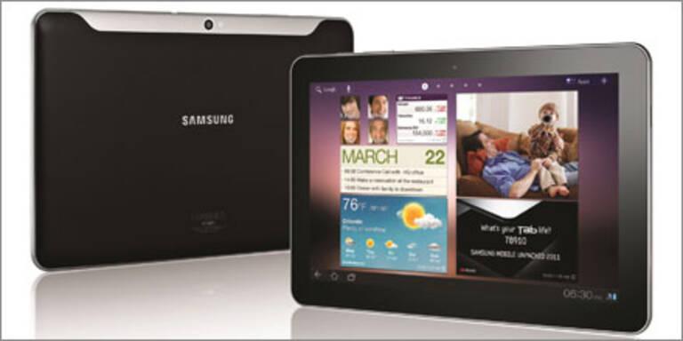 Samsung Galaxy Tab 8.9 und 10.1 kommen