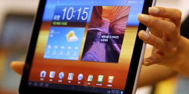 Apple verliert Tablet-Streit gegen Samsung
