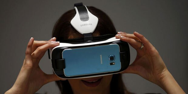 VR-Brille für Galaxy S6 (Edge) startet
