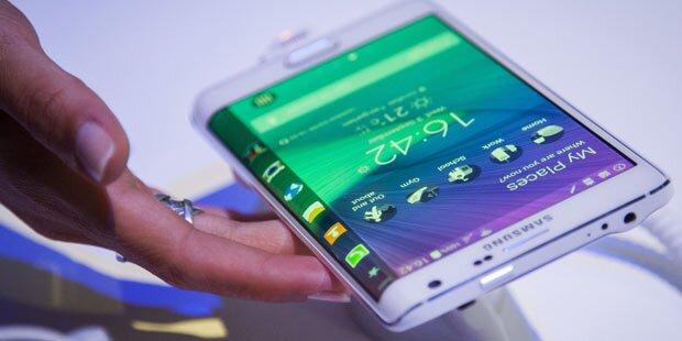 Galaxy Note Edge startet in Österreich