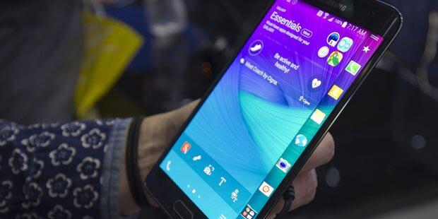 Galaxy S6 wohl mit Display-Sensation