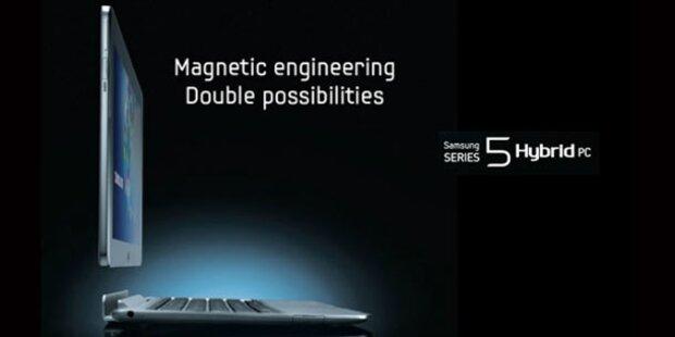 Samsung stellt Tablet-Laptop-Mischling vor