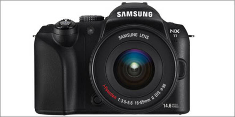 Samsung NX11 mit i-Function Technologie