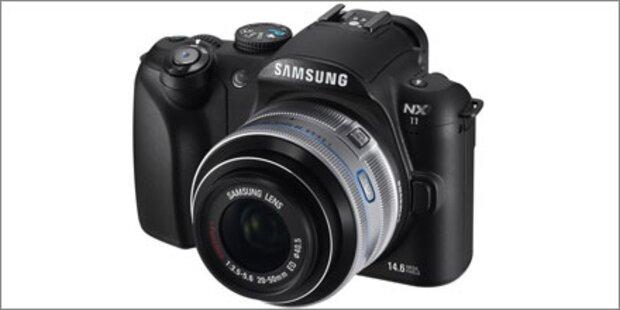 Neue Systemkamera Samsung NX11