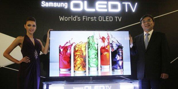 Samsung bringt OLED-TV in den Handel