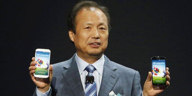 Samsung kündigt gebogene Displays an