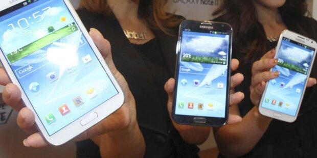 Mehr Smartphones als Handys verkauft