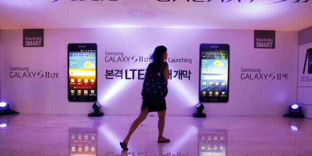 Patentabkommen von Samsung & Microsoft