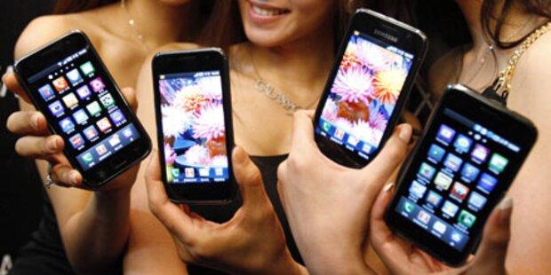 Samsung überholt Nokia in Westeuropa