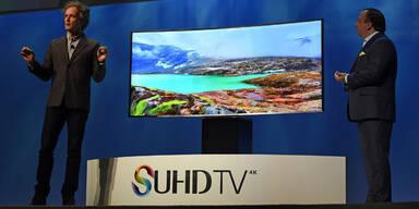 Samsung greift mit S-UHD-Fernsehern an
