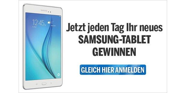 Samsung-Tablet gewinnen
