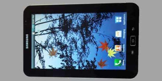 Erste Infos vom Samsung Galaxy Tablet