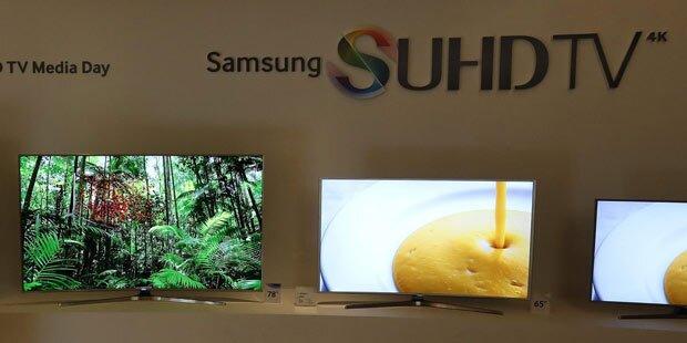 Samsung warnt vor eigenen Fernsehern