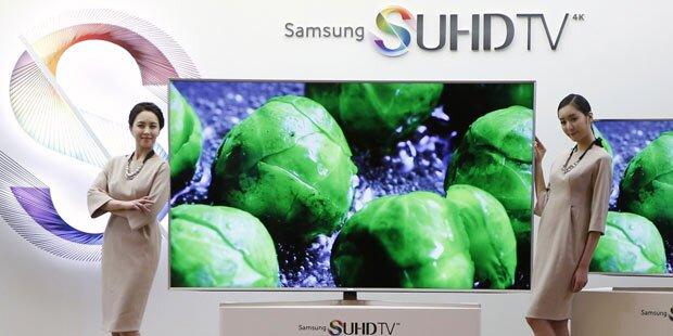 Samsung setzt bei Top-TVs auf Tizen