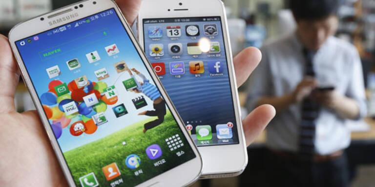 Die meistgenutzten Smartphone-Apps der Welt