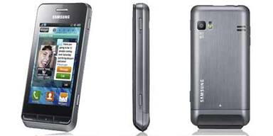 """Samsung Smartphone """"Wave 723"""" startet"""