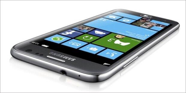 Galaxy Note 2 und 1. WP8-Smartphone