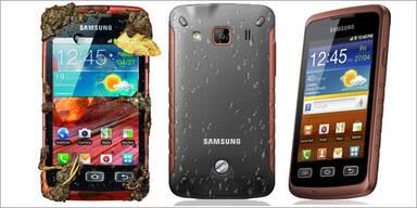 Samsung bringt Outdoor-Handy Xcover