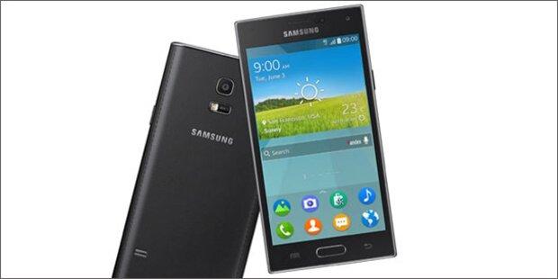 Samsung zeigt sein Tizen-Smartphone