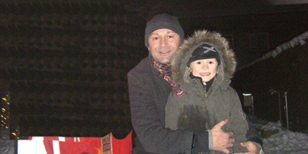 Vater holt entführten Sohn zurück