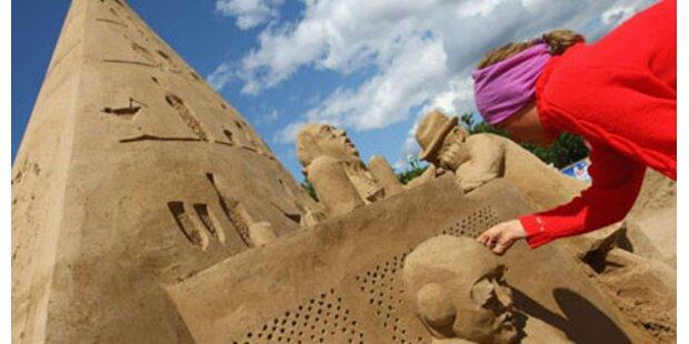 Die schönsten Sandskulpturen