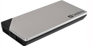 Neue Powerbank lädt Handy & Tablet