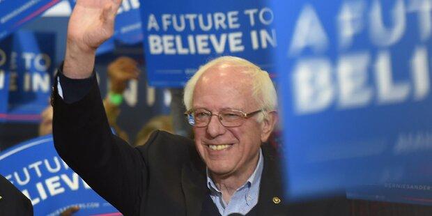 Stiehlt Bernie Sanders Hillary die Show?