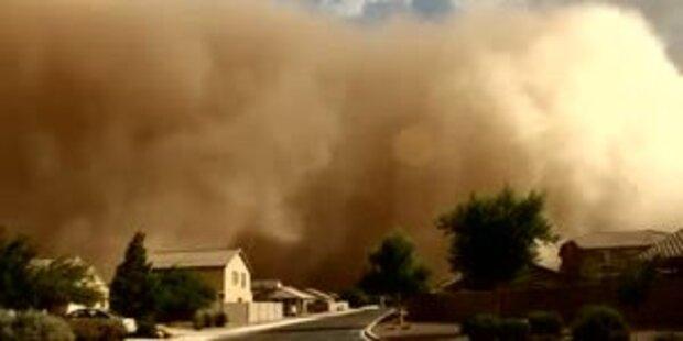 Wieder Schreckens-Sandsturm in Phoenix