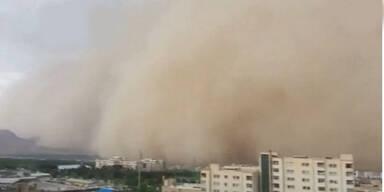 Diese Schäden hinterlässt ein Sandsturm
