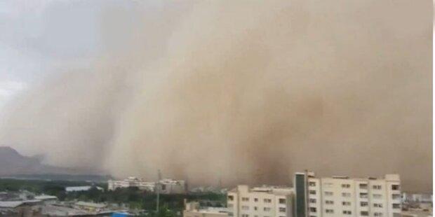 Fünf Tote nach Sandsturm