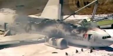 USA: Flugzeug-Unglück in San Francisco