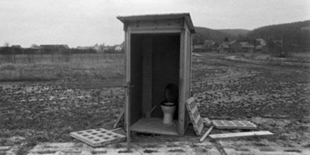 39 % der Bevölkerung ohne Sanitäranlagen