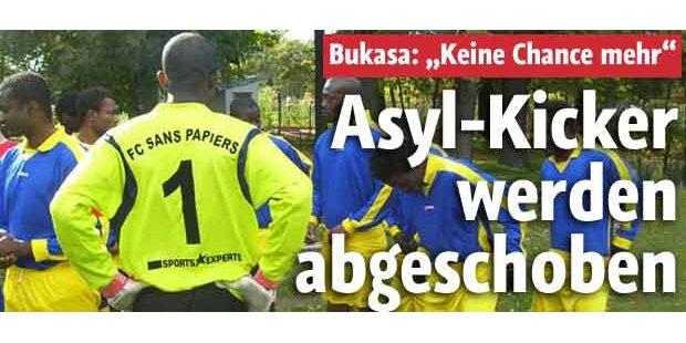 Asyl-Kicker werden abgeschoben