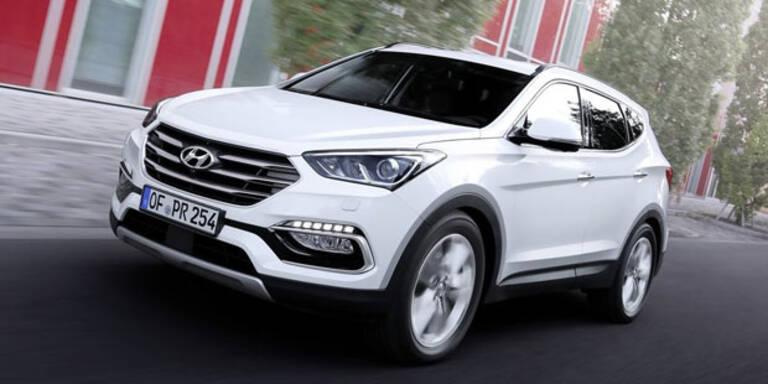 Hyundai frischt den Sante Fe auf