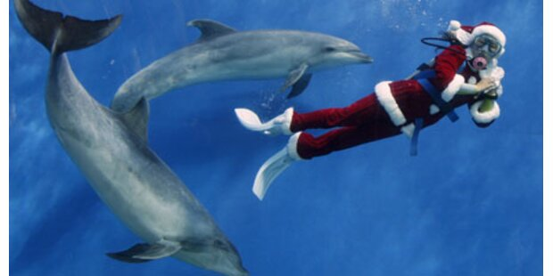 Weihnachtsmänner aus aller Welt