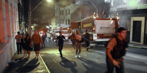 Brasilien: Über 200 Tote bei Brand in Disco