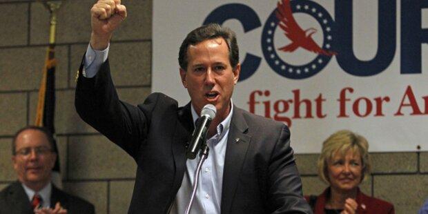 Santorum als Katholiken-