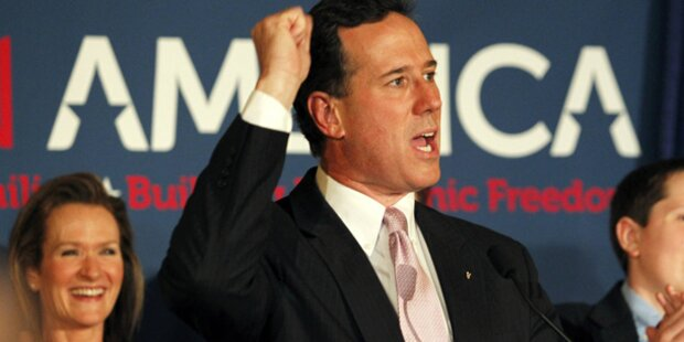 Santorum gewinnt in zwei Südstaaten