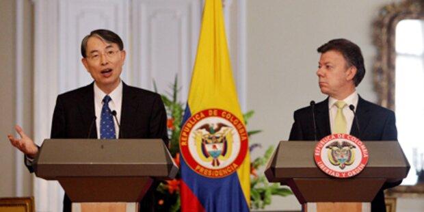 Kolumbien nimmt IStGh-Gefangene auf
