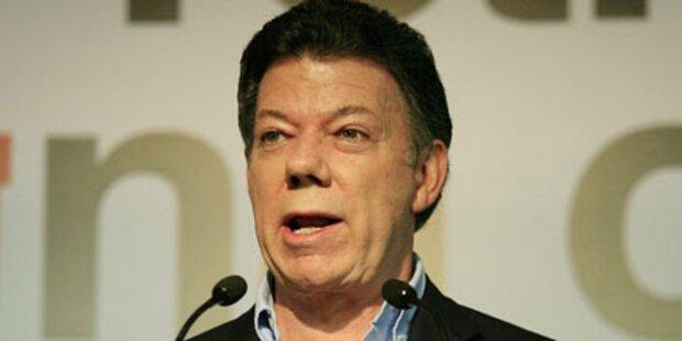 Santos kommt Uribe-Nachfolge näher