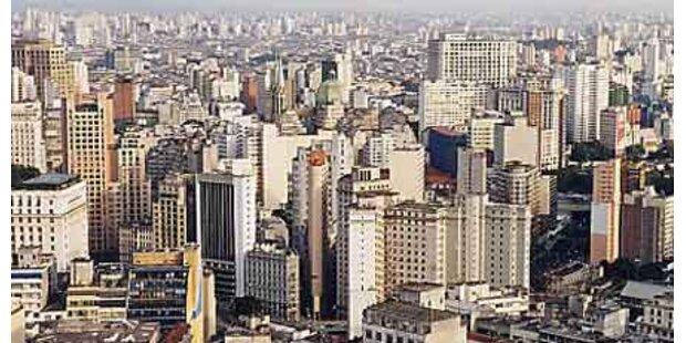 Fast 300 km Stau in Sao Paolo