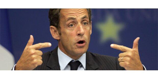 Sarkozy unter Beschuss nach Polizeichef-Entlassung