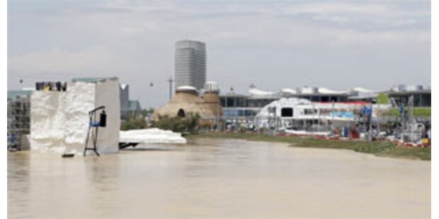 Hochwasser bringt das Expo-Programm durcheinander